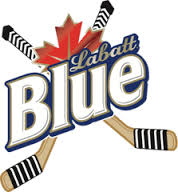 Labatt Blue Hockey sticks logo